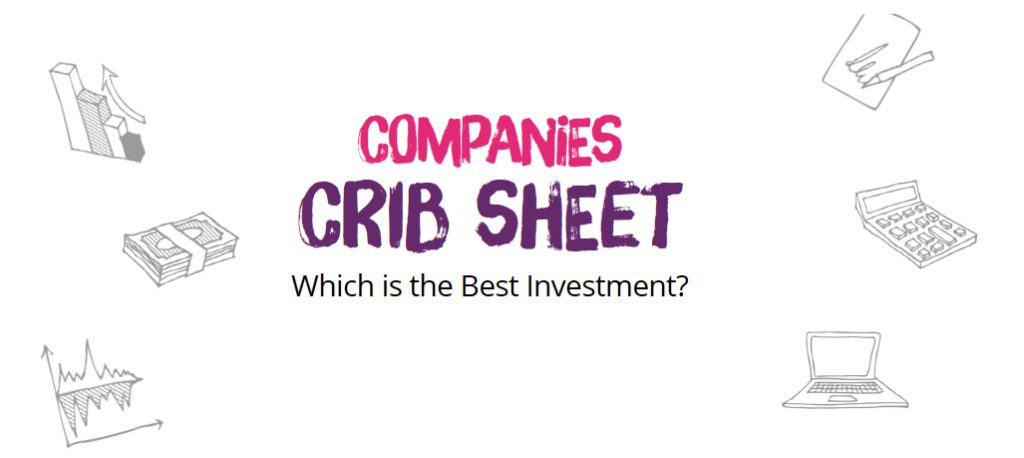 Companies crib sheet